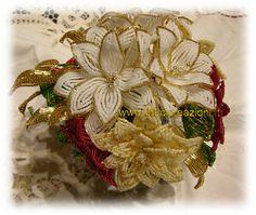Bomboniere - Fiori di perline - Beaded Flowers