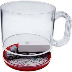 Semi-full 12 Oz. Compartment Coffee Mug