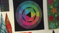 Colour wheel by Hazel Ryder