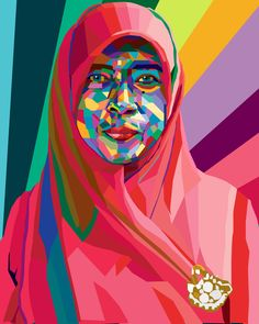 It's my teacher mrs.kustini, i make it for my WPAP's Homework