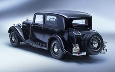 1928 Maybach Zeppelin DS7 Luxury Limousine