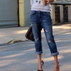 CURRENT/ELLIOTT Boyfriend Jeans Boyfriend jeans by current/Elliott / baggy fit Current/Elliott Jeans Boyfriend