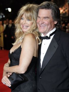 Goldie & Kurt - if any couple seem perfect together, it's these two... both very gorgeous and both very talented actors...