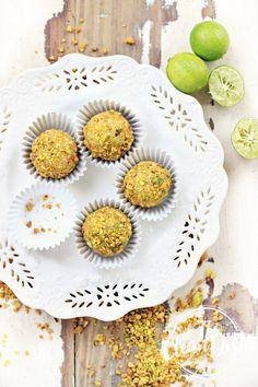 Key Lime Pistachio Truffles {vegan, grain free, gluten free, refined sugar free, raw}