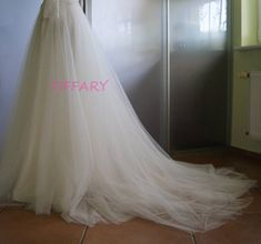 CLARISSA wedding tulle bottom Bridal skirt tulle wedding | Etsy Bridal Skirts, Wedding Skirt, Tulle Wedding, Wedding Dresses, Flower Girl Dresses, Trending Outfits, Etsy, Fashion, Bride Dresses