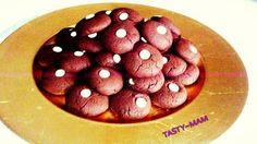 Tasty~Mam: ΑΦΡΑΤΑ ΣΟΚΟΛΑΤΕΝΙΑ COOKIES Cookies, Tasty, Chocolate, Vegetables, Breakfast, Desserts, Food, Crack Crackers, Morning Coffee