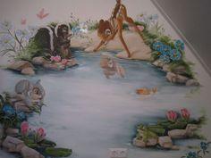 + Baby Wall Art, Baby Art, Art Wall Kids, Animal Nursery, Nursery Art, Nursery Ideas, Mural Art, Wall Murals, Disney Mural