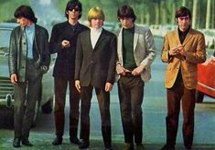 60'S Look For Men | Like Women's Hairstyles of the 60's , Men's Hairstyles. The Rolling stones before they turned in to really old men.