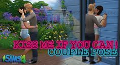 Kiss me if you can ! poses at 3lodiie • Sims 4 Updates