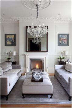 idea for chandelier in livingroom
