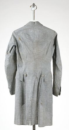 Dated  1790.  It has a waist seam.  Just sayin.