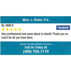 Very professional and cares about is clients! Thank you so much for all you have done.