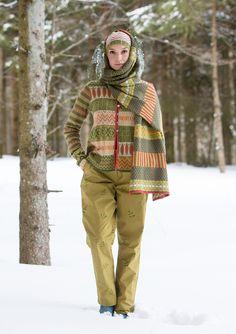 """Housut """"Green"""" ekopuuvillaa – Untuvatakki """"Green"""" – GUDRUN SJÖDÉN - vaatteita verkossa ja postimyynnissä"""