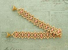 Beaded Jewelry Patterns, Bracelet Patterns, Beading Patterns, Chain Earrings, Beaded Earrings, Beaded Bracelets Tutorial, Earring Trends, Bead Jewellery, Beading Tutorials