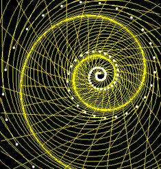 equiangular spiral