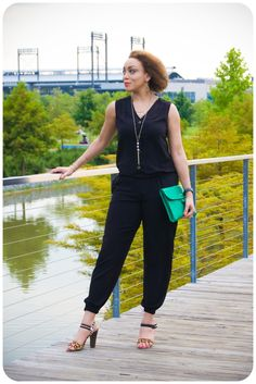Erica B.'s - D.I.Y. Style!: Review: McCall's 7203 | Back-to-Black Jumpsuit!