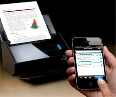 """Fujitsu ScanSnap This is one incredible scanner. You can scan to your phone or iPad wirelessly. It""""s fast and easy. Cool Gadgets, Law, Bucket, The Incredibles, Technology, Spaces, Tools, Running, Amazon"""