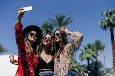 We're at @coachella! We met up with @macabeso@soypaulinagoto and@vivianaserna who's looking flawless in #HM festival outfits! #HMLOVESCOACHELLA  via H&M FASHION OFFICIAL INSTAGRAM - Men's Women's Kids Fashion Campaigns  Advertising  Editorial Photography  Magazine Covers  Ready To Wear
