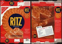 nabisco cracker boxes | Nabisco - Ritz Crackers box - 1970's | Flickr - Photo Sharing!
