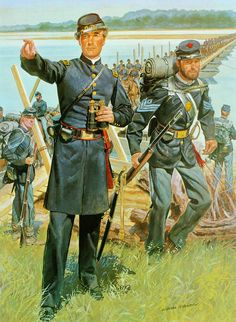 1863, Corps of Engineers and Infantry
