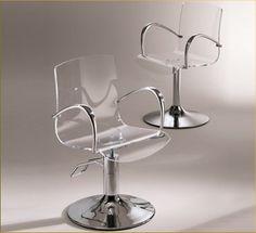 Carlotta Acrylic Chair by Sassi