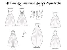 Margo Anderson's Italian Renaissance Lady's Patterns by Margo Anderson — Kickstarter
