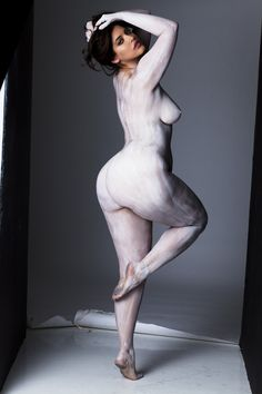 Denise Bidot and Marina Bulatkina stripped down to prove a point, and the photos are stunning.