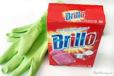 The power of the Brillo Pad