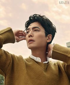 Jung Kyung Ho in Grazia October 2018 Korean Celebrities, Korean Actors, Celebs, Actors Male, Actors & Actresses, Drama Fever, Pretty Men, Korean Beauty, Korean Drama