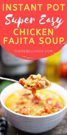 Instant Pot Chicken Fajita Soup Recipe (2)