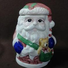 Items similar to Vintage ceramic Santa candy/cookie jar on Etsy Ceramic Cookie Jar, Cookie Jars, Candy Cookies, Vintage Cookies, Vintage Tupperware, Christmas Decorations, Christmas Ornaments, Farm Yard, Great Christmas Gifts