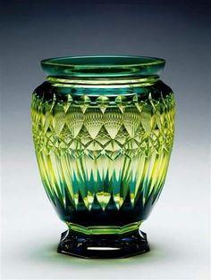 Val St Lambert Vase 1920