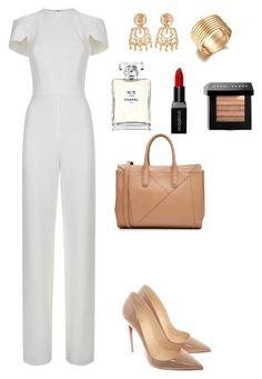 """Goddess"" by allieofficial on Polyvore featuring Christian Louboutin, MaxMara, Chanel, Smashbox and Bobbi Brown Cosmetics"