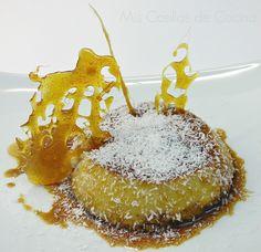 Flan de Avellanas Coco y Avena Puerto Rican Cuisine, Caramel Apples, Crepes, Gingerbread Cookies, Coco, Puerto Rico, Panna Cotta, Clean Eating, Traditional