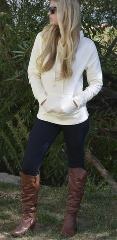 Stacy Brushed Fleece Hoodies are a must have basic this fall! Stay stylish, warm and comfy! http://www.sexymodest.com/collections/featured/products/stacy-brushed-fleece-hoodie @modestshoppin