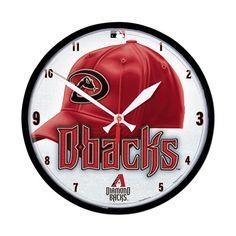 Arizona Diamondbacks MLB Round Wall Clock