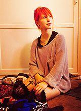 Hayley Williams bangs