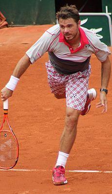 2015 Stanislas Wawrinka  Suisse La finale Roland Garros 2015 contre ND, c'était juste la grande classe