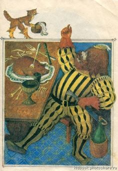 "Mikhail Fedorov illustration for ""Puss in Boots"". Typography Prints, Fantasy Art, Fairy Tales, Illustrator, Europe, Dark, Gallery, Artist, Inspiration"