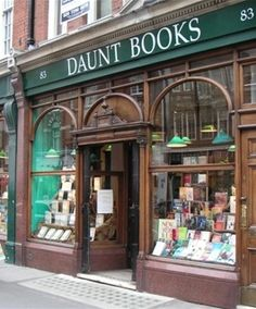 Daunt Books  the book shop organized into countries