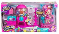 Shopkins Sweet Spot pack with Exclusive Bubbleisha Shopkins