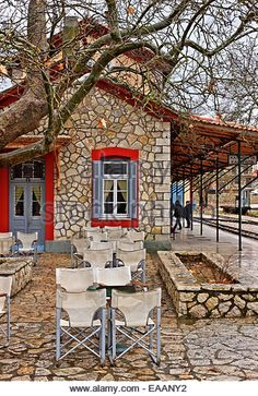 Train Station, Greece, Patio, Homeland, Outdoor Decor, Wanderlust, Pictures, Memories, Travel