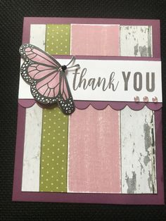 Color Dare - Sugarplum, Fern and Eggplant Scrapbook Cards, Scrapbooking, Grateful Heart, Butterfly Cards, Heart Cards, Close To My Heart, Paper Decorations, Craft Fairs, Cool Things To Make