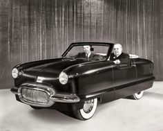 """1950 Nash NXI."" The Nash Experimental International, the basis for the Nash Metropolitan,"