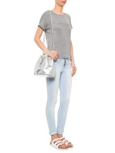 Blusa Feminina Ck Ny - Calvin Klein White Label - Cinza - Shop2gether