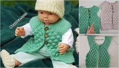 örgü Crochet For Kids, Crochet Baby, Knit Vest, Baby Knitting Patterns, Diy And Crafts, Baby Kids, Fashion, Knitting Patterns, Tricot