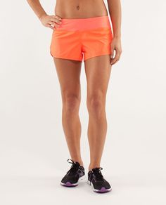 Lululemon Run: Speed Short. If Speedy Gonzales trained for a 10K, we're pretty sure he'd do it in these shorts.