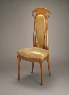 Chair, 1908, Hector Guimard