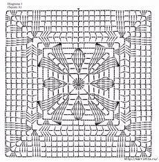 Very Beautiful Summer Blouse Crochet - Diy Crafts - hadido Filet Crochet, Crochet Diy, Crochet Chart, Love Crochet, Crochet Flowers, Crochet Stitches, Crochet Motif Patterns, Granny Square Crochet Pattern, Crochet Blocks