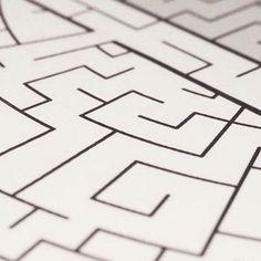 My love for mazes and art #mazeart #map #uk #london #maze  #artwork https://mickallan.com #print #interactiveart